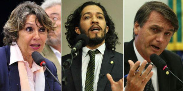 Kokay defende Wyllys de cusparada: 'Bolsonaro é algoz