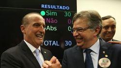 O que foi aprovado no projeto anticorrupção pelos