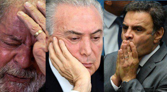 Temer, Lula, Aécio... Segundo jornal, tem para todos os gostos na delação da