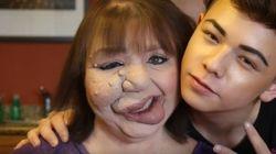 Este youtuber usou o poder da maquiagem para elevar a autoestima de sua