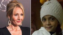 J.K. Rowling presenteia menina síria com TODOS os livros de 'Harry
