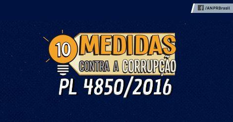 10 medidas contra a corrupção: Um paciente em estado