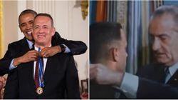 O dia em que Tom Hanks se emocionou ao repetir uma cena de Forrest Gump na vida