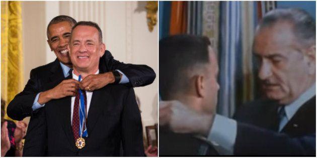 Forrest Gump da vida real: Tom Hanks é homenageado por Obama com medalha de