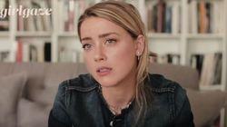 ASSISTA: Amber Heard faz relato contundente e tocante sobre violência