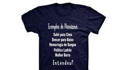 'Mulher burra': Dafiti vende camiseta de conteúdo sexista e causa