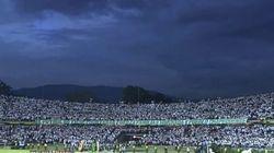 Estádio de Medellín fecha porque não cabe mais gente querendo homenagear a