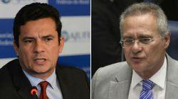 Moro vai ao Senado e propõe limites ao projeto de Renan contra abuso de