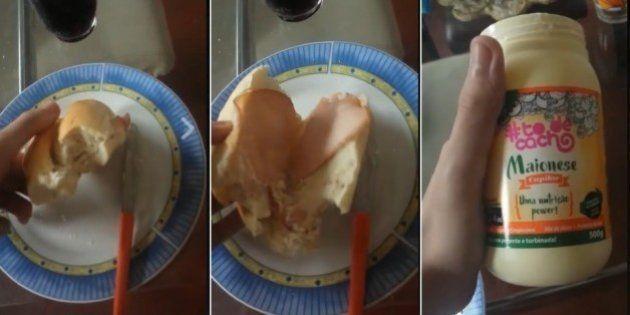 Pão, peito de peru e maionese capilar: O triste depoimento do rapaz que colocou máscara para cabelo no