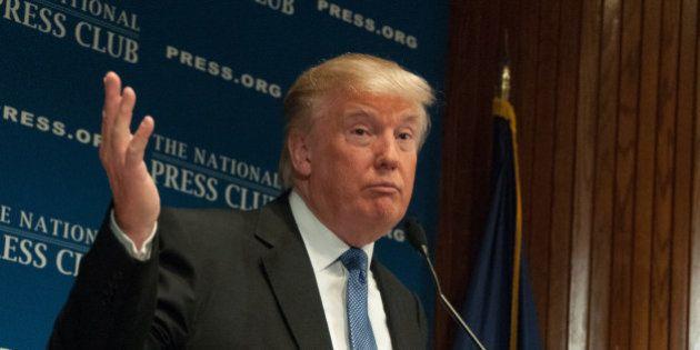 Donald Trump diz que presidência dá 'mais trabalho que