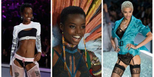 Pela 1ª vez, três modelos crespas brilharam com seus crespos no desfile da 'Victoria's