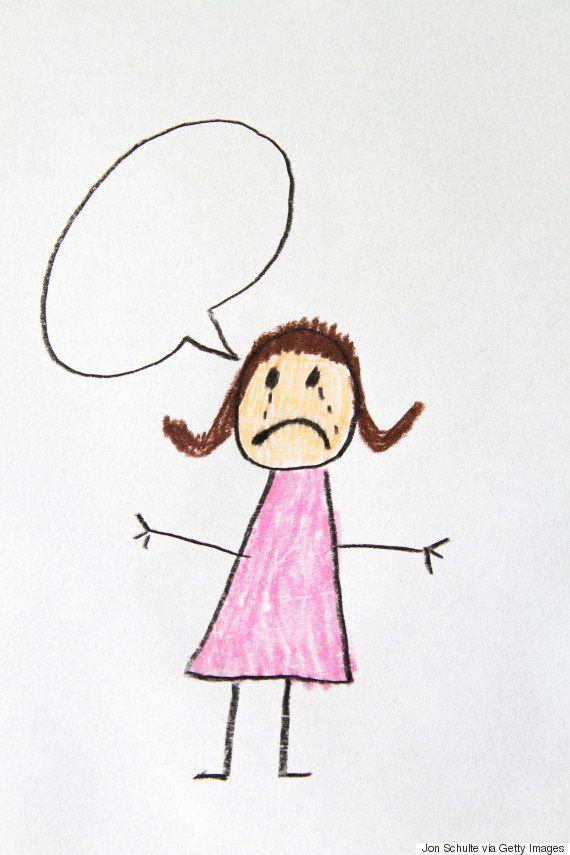 Escola encoraja crianças a falarem quando estão tristes ou