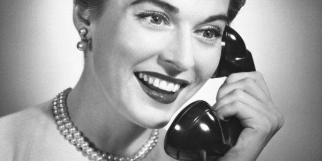 UNITED STATES - CIRCA 1950s: Woman on
