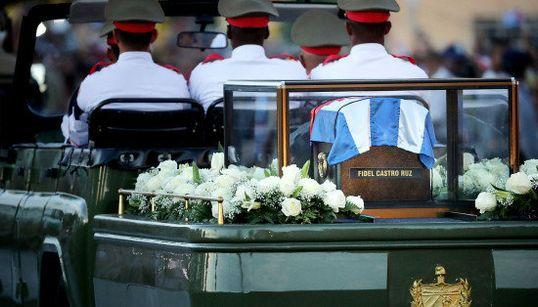 FOTOS: A longa e histórica despedida que Cuba promoveu a Fidel