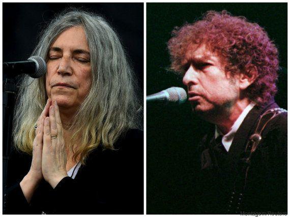 Bob Dylan envia discurso e Nobel anuncia Patti Smith em cerimônia de