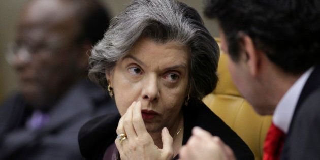 Judge Carmen Lucia attends