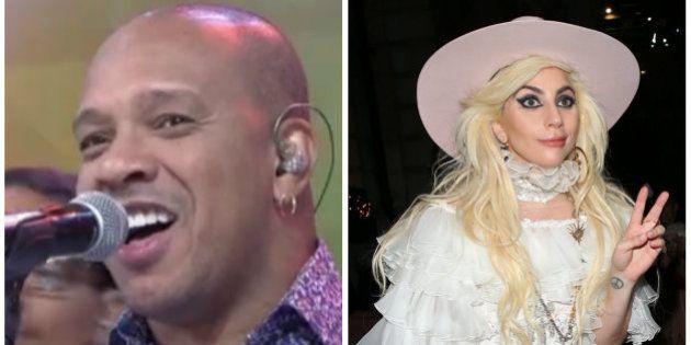 Molejo cantando 'Perfect Illusion', de Lady Gaga, era o que faltava para você começar a semana