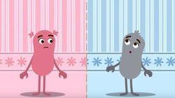 Esta animação ensina passo a passo para educar as crianças com igualdade de