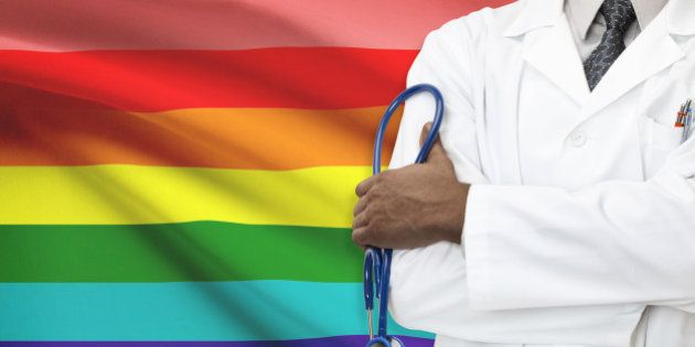 Concept of national healthcare system - LGBT- Lesbian, gay, bisexual and transgender