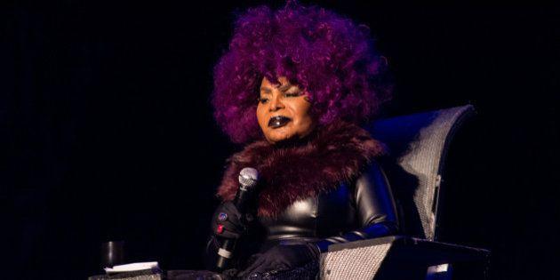 LISBON, PORTUGAL - NOVEMBER 26: Elza Soares performs at the Lisbon Coliseum in Mexefest on November 26,...