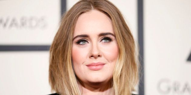 Singer Adele arrives at the 58th Grammy Awards in Los Angeles, California February 15, 2016. REUTERS/Danny...
