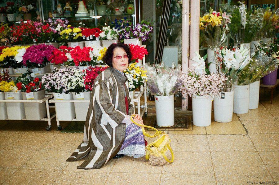 Esta é Mitsugetsu, uma mulher que simboliza a beleza em qualquer