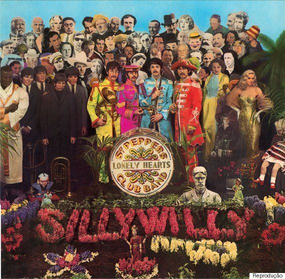 Artista faz releitura da capa de 'Sgt. Pepper's Lonely Hearts Club Band' para homenagear famosos mortos...