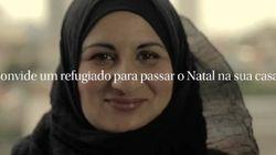 Campanha propõe que refugiados sejam os convidados da sua ceia de