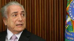 Temer e ministros do PMDB são citados na delação da Odebrecht, diz TV