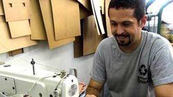 Detentos usam lonas dos Jogos Olímpicos para produção de