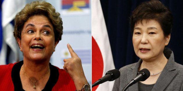 Impeachment através do espelho: Dilma e Park contra as