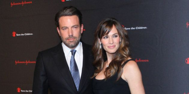 NEW YORK, NY - NOVEMBER 19: Ben Affleck and Jennifer Garner attend 2nd Annual Save the Children Illumination...