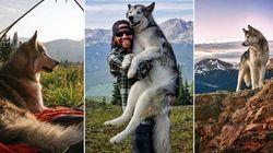 FOTOS: Este mochileiro leva o cachorro para todas as suas viagens nos