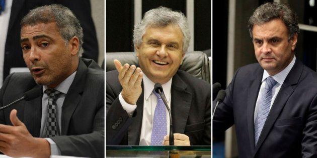 Ronaldo Caiado é eleito o melhor senador de 2015 em voto popular no prêmio Congresso em