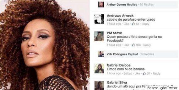 Taís Araújo sobre comentários racistas no Facebook: 'A minha única resposta pra isso é o