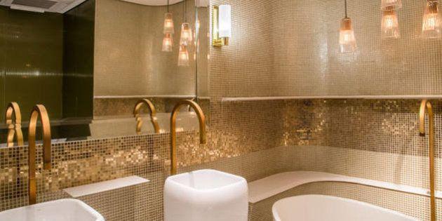 Os detalhes do banheiro público mais luxuoso do Brasil em 10