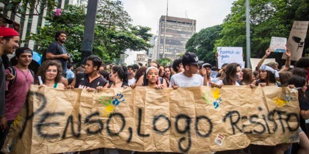 Estudantes que dobraram o governador Geraldo Alckmin contam suas