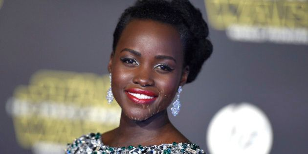 Lupita Nyong'o arrives at the world premiere