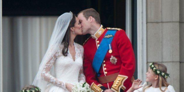 LONDON, UNITED KINGDOM - JANUARY 13: TRH Catherine, Duchess of Cambridge and Prince William, Duke of...