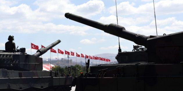 Armored military tanks - Turkish
