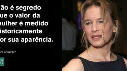 Renee Zellweger detona bullying público contra as