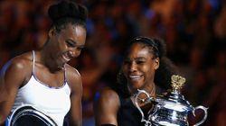 As irmãs Serena e Venus Williams. Uma vitória individual. E uma declaração de