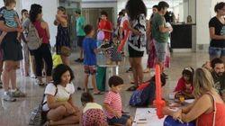Elas foram proibidas de brincar em prédio de Brasília. A resposta foi um