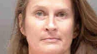 Cops say a disgruntled teacher in Florida wiped human feces all over a park pavilion.