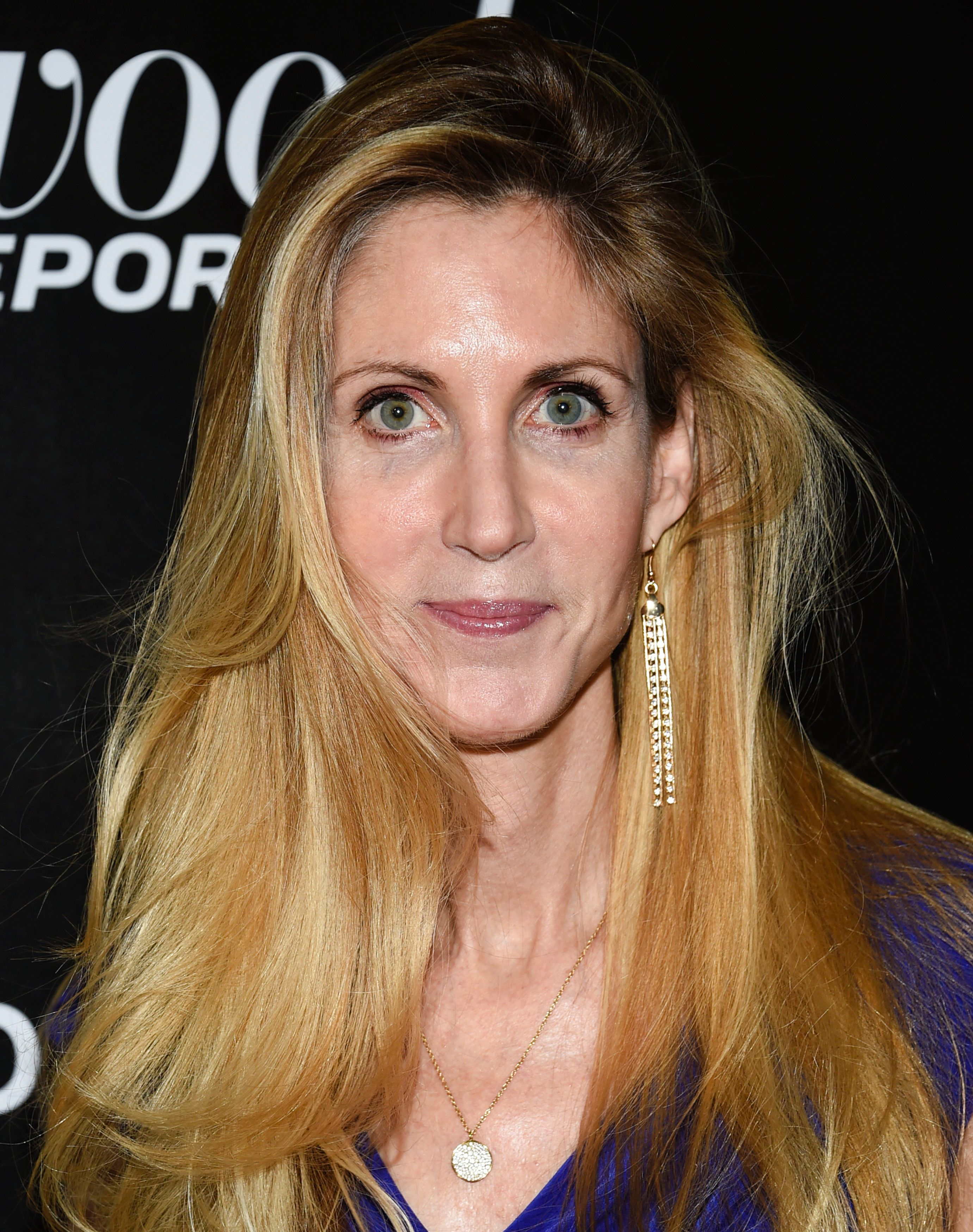 Political commentator Ann Coulter attends The Hollywood Reporter's annual 35 Most Powerful People in Media event at The Pool on Thursday, April 12, 2018, in New York. (Photo by Evan Agostini/Invision/AP)