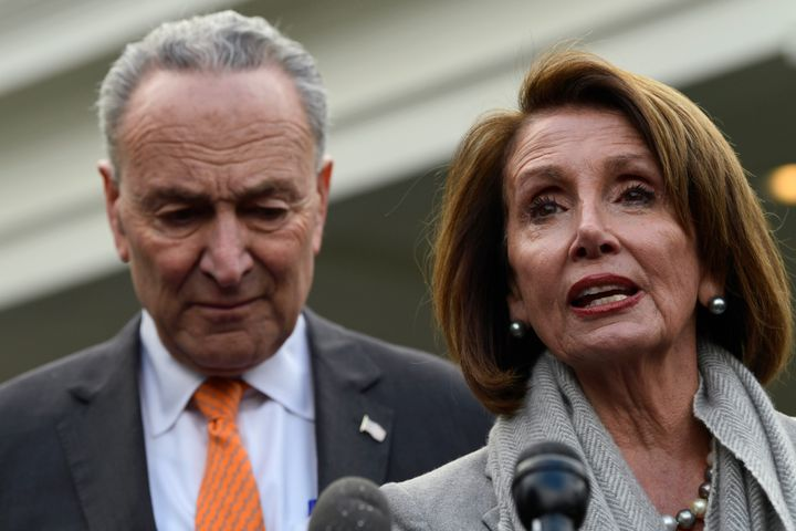House Speaker Nancy Pelosi and Senate Minority Leader Chuck Schumer have been unable to forge a deal with the president and a