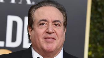 Nick Vallelonga arrives at the 76th annual Golden Globe Awards at the Beverly Hilton Hotel on Sunday, Jan. 6, 2019, in Beverly Hills, Calif. (Photo by Jordan Strauss/Invision/AP)