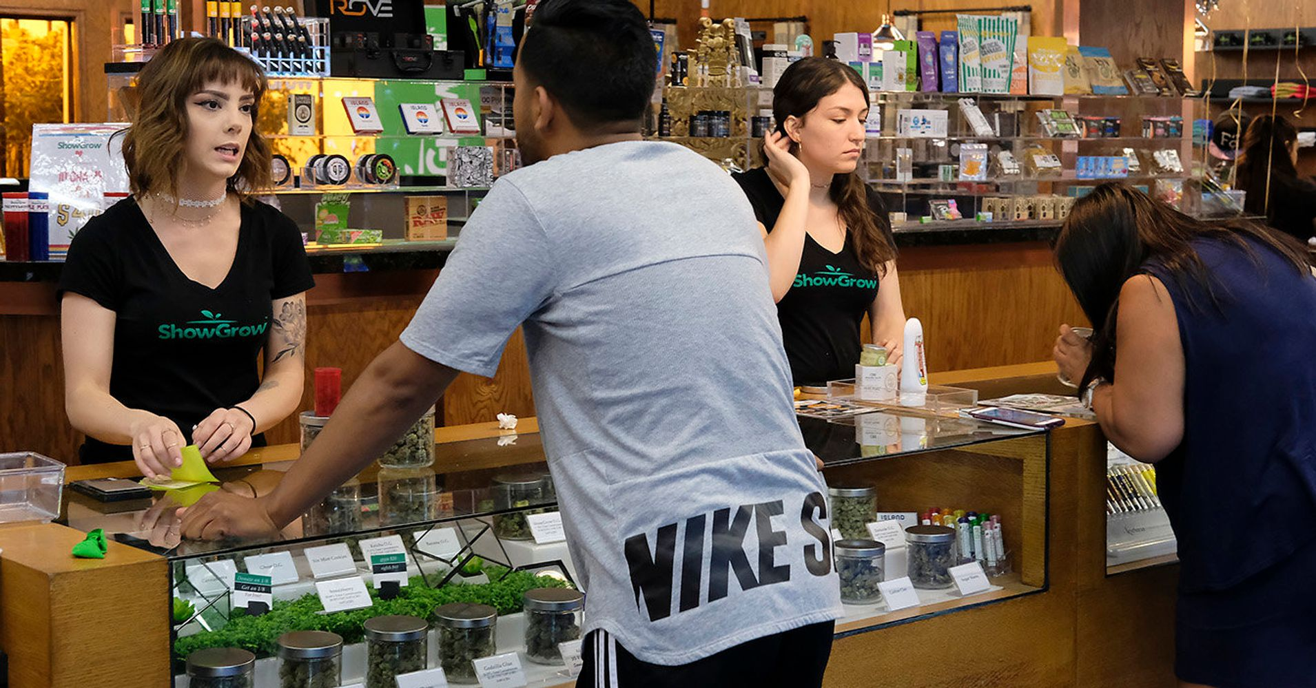 California Pot Taxes Lag As Illegal Market Flourishes