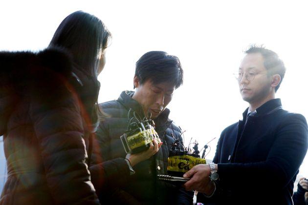 '가이드 폭행' 박종철 예천군의원이 경찰 출석해