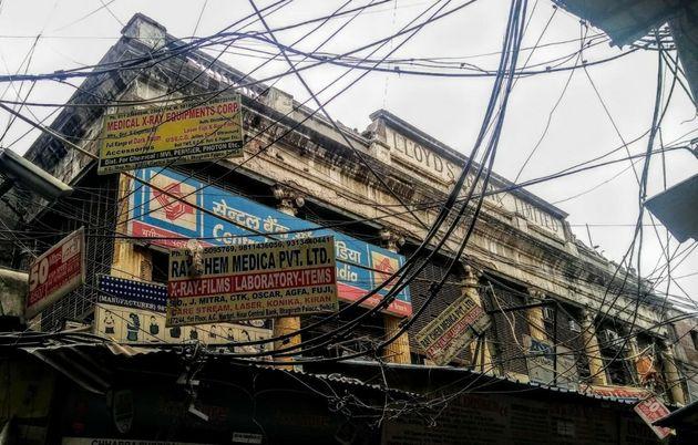 Central Bank of India occupies some portion of Begum Samru's Delhi